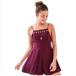 Urban Outfitters Kimchi Blue Plum Romper